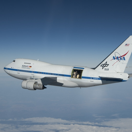 Image SOFIA - Stratospheric Observatory for Infrared Astronomy