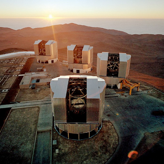 Image Very Large Telescope (VLT)